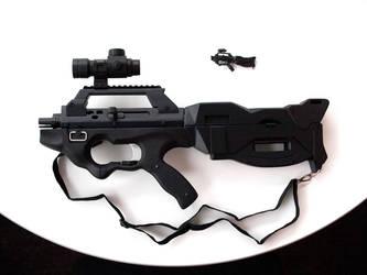 Seburo Assault Rifle by DANQUISH