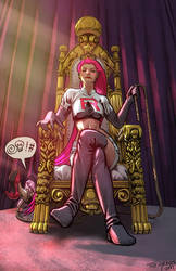 Jessie the Usurper by Zombie-Graves