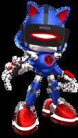 (Concept) VR Metal Sonic by justazag