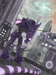Shockwave's tower by ka-ju
