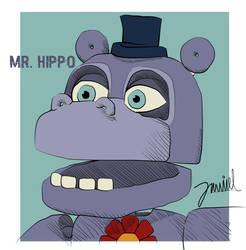 Mr. Hippo by joydokeFNaF
