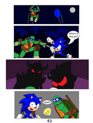 Clash of Two Worlds Chapter 2 page 43 by SuperSentaiHedgehog