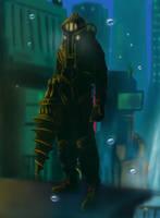 Bioshock 2 - Subject Delta by Cybron666