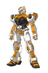 ORB-00 Amaterasu by Tecmopery
