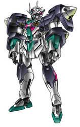 GN-00000 Cinque Gundam by Tecmopery