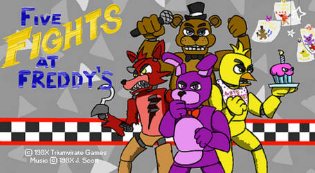 Five Fights At Freddy's by JargonScott