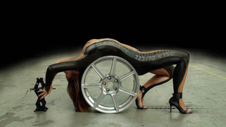 BODY PAINTING IV by inoxdesign