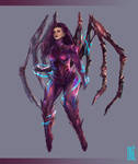 Kerrigan - Queen of Blades by inoxdesign