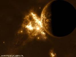Evening Star Nebulae by skurvy