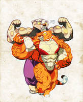 Tigress Comparison colored by the-Sleuth