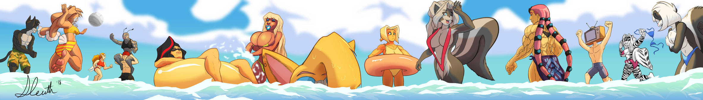 The Beach by the-Sleuth