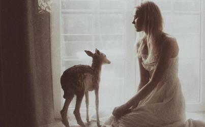little deer. by laura-makabresku