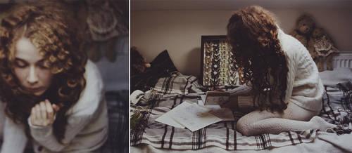 Working on tomorrow's photoset. by laura-makabresku
