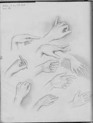 Hand sketches by MShah123