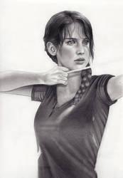 Katniss WIP by MShah123