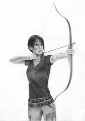 Katniss WIP 2 by MShah123