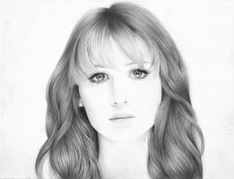 Jennifer Lawrence portrait by MShah123