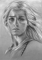 Daenerys Stormborn by MShah123