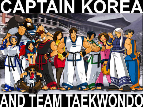 SUPER-TEAM KOREA REPREZENT by ShoNuff44