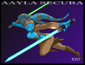 Aayla Secura Commission by ShoNuff44