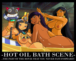 Hot Oil Bath Commission by ShoNuff44
