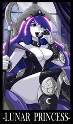 GRIFFIN COM MLP Princess LUNA by ShoNuff44