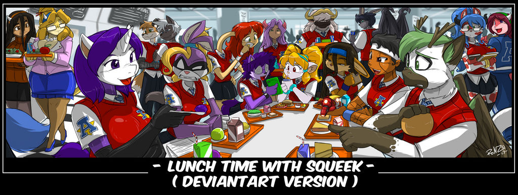 -YCH- LUNCHTIME WITH SQUEEK DA VERSION by ShoNuff44