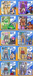 YCH TOY OC Set 2 gallery by ShoNuff44