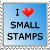 Stamp: I Love Small Stamps by FantasyStockAvatars