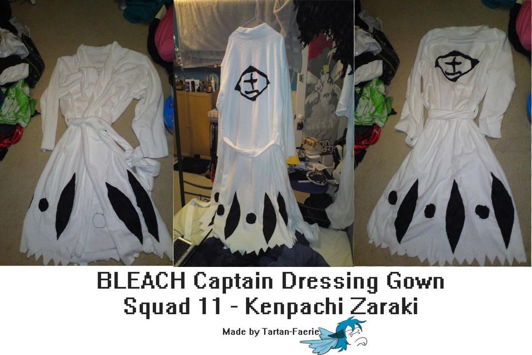 Bleach Squad 11 Dressing Gown by Tartan-Faerie on DeviantArt 701f56515d7