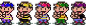 Smash Bros. Characters - Ness by Jrosen