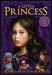 Princess Sarah Sample Book Cover Illustration by krayisako