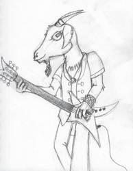 Metal Goat by The-Albino-Axolotl