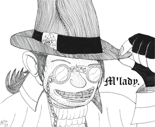 Ignatius the Euphoric aka Magebeard by The-Albino-Axolotl