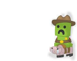Creepin Cowboy by iPseudonym