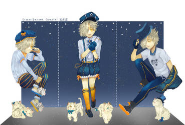 [F] Starry Dreams Gokotai by XSnowRoyale