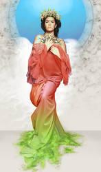 Goddess by lenoki