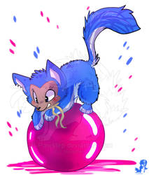 Furble - Circus Artist by JB-Pawstep