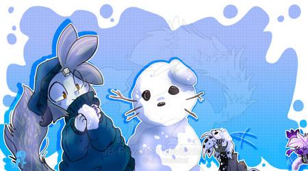 Snow Fun by JB-Pawstep