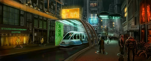 Future Amsterdam by Deevad