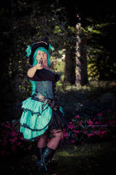 Blue-Haired-Pirate by Seraphlyn