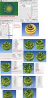 Visual partial guide to 'GenCWarp' by dark-beam
