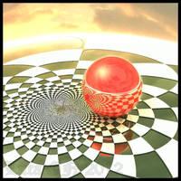 Checker scene one by dark-beam