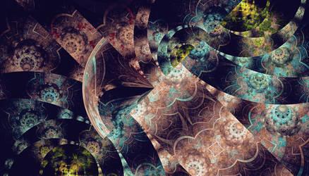 Fading memory by dark-beam
