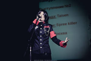 SPREE KILLER: Clyde. Vocals on stage. by Hibary-san