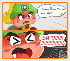 Disappointed In You Nintendo by DFKJR