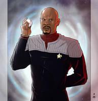 Star Trek - DS9: Benjamin Sisko by StefanoMarinetti