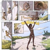 OC - Comic Strip 04: Clythia by StefanoMarinetti