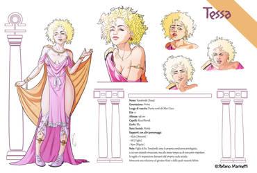 OC: Tessa (Tessaloniki) - sheet by StefanoMarinetti
