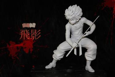 Hiei figure almost ready ! by Atelier-Enaibi